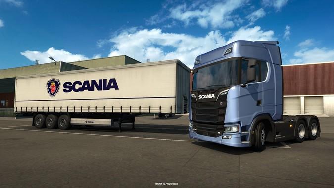 Nova Geração Scania se aproxima do Euro Truck Simulator 2