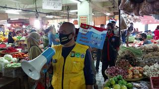 Kapolda Metro Jaya Gandeng KBPPP POLRI  Bagikan Masker 1000 PCS di Stasiun Kota Tua Jakarta Kota
