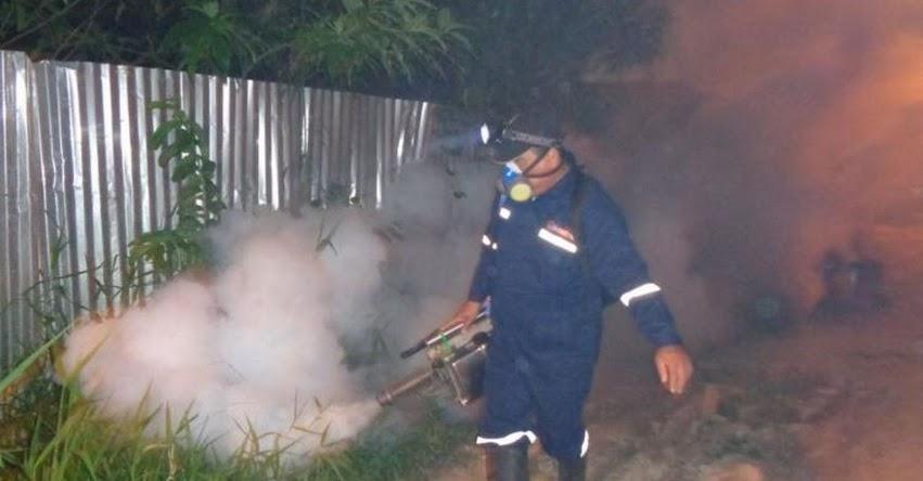 Sector Salud de Loreto fumigará 69 colegios y 23 mil casas en Yurimaguas