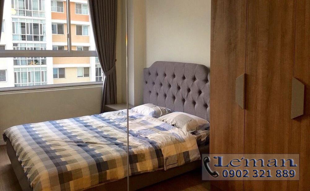Cho thuê căn hộ Leman 2PN - giường ngủ