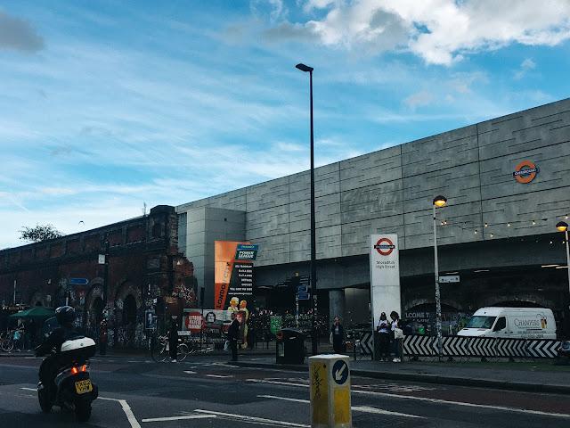 ショーディッチ・ハイ・ストリート駅(Shoreditch High Street)