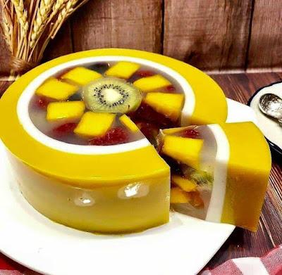 Resep fruit pudding enak untuk penutup makan