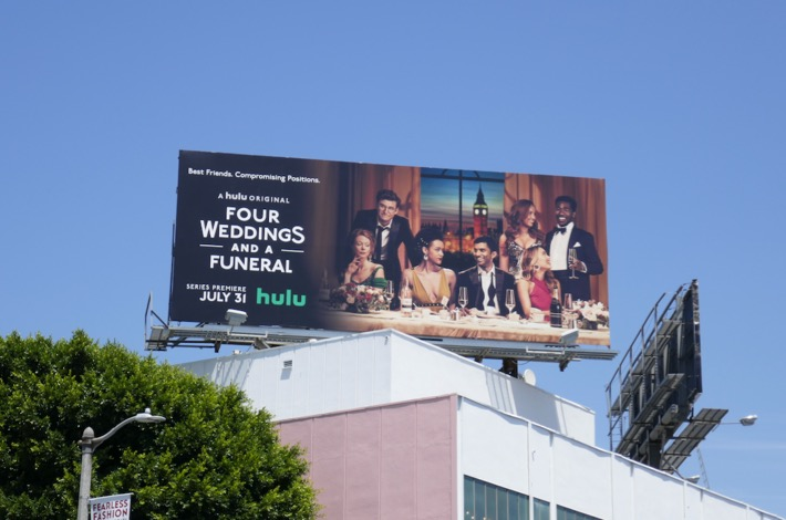 Four Weddings and Funeral season 1 billboard