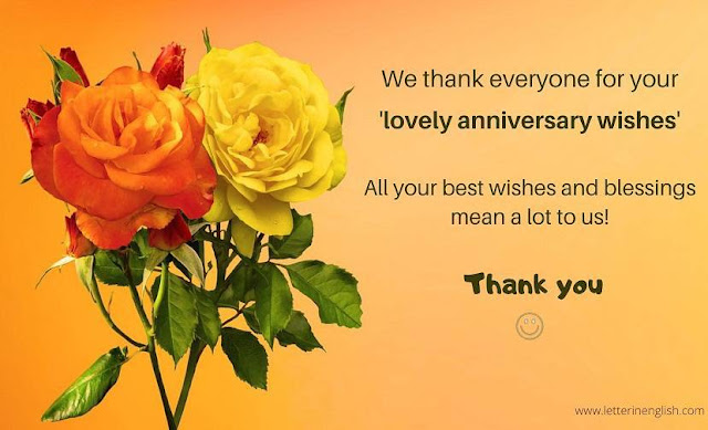 Reply of wedding anniversary wishes