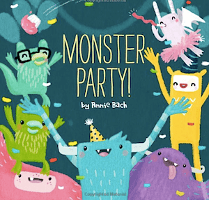 Monster Party: Fabulous Birthday Book