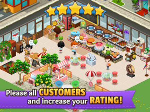 Game Cafeland World Kitchen Mod Apk v1.5.1 3