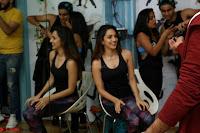 Kiara Advani Black Tank Top Tight leggings Tu Cheez Badi Hai Mast Mast~  Exclusive 28.JPG