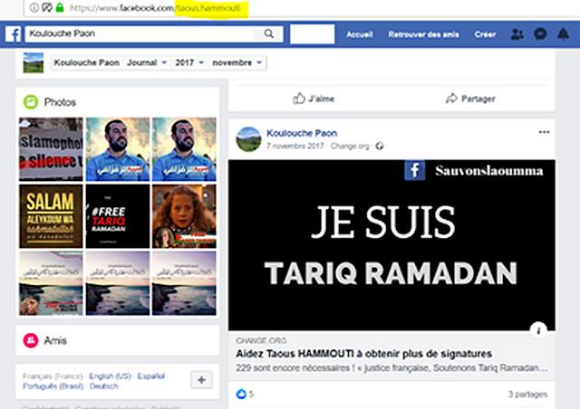 Taous Hammouti apprécie particulièrement Tariq Ramadan