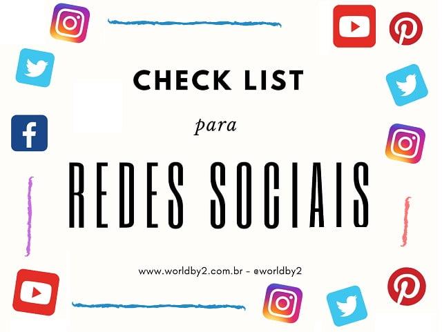 Check LIst rede social