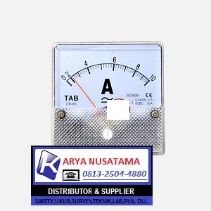 Jual TAB  0 - 10 A Ampere Meter AC DC di Bogor