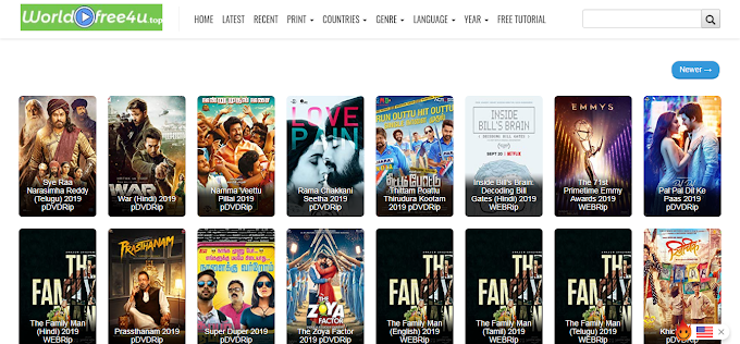 Worldfree4u Bollywood Movies Download Website