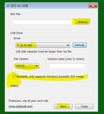 أفضل برنامج ISO to USB لحرق الويندوز على USB و بطاقات SD