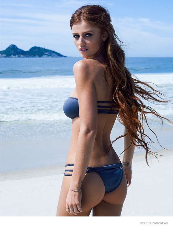 Dicker Swimwear Campaign Spring/Summer 2015 featuring Cintia Dicker