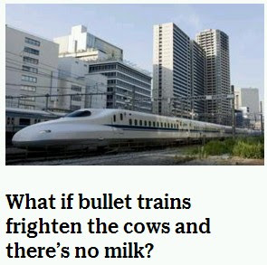 Durango Texas: Texas Bullet Trains May Cut Off Texas Milk Supply