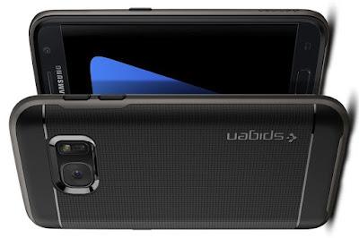 Best Galaxy S7 Case, Spigen® [Neo Hybrid] PREMIUM BUMPER [Gunmetal] Bumper Style Premium Case Slim Fit Dual Layer Protective Cover
