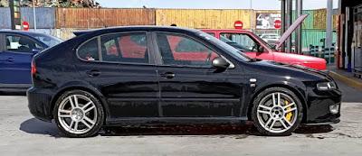 SFC Garage: El SEAT León de Sergio Rivera.