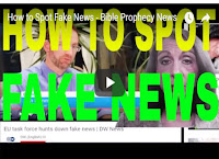 How to spot fake news-Bible Prophecy news