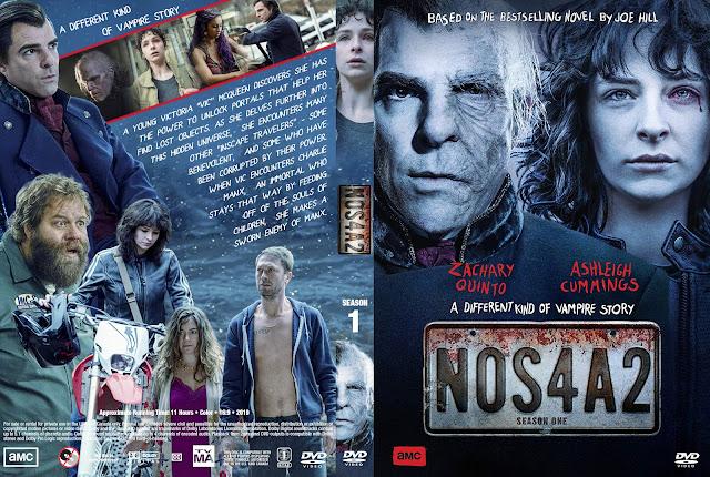 NOS4A2 Season 1 DVD Cover