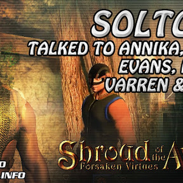 Soltown ★ Talked To Annika, Harry, Evans, Martin, Varren & Edwin ★ Shroud of the Avatar Gameplay