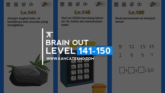 Kunci Jawaban Brain Out Level 141-150