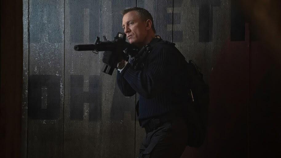 No Time to Die, James Bond, Daniel Craig, 4K, #3.2288