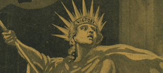 detail of sheet music for 'Victory' by  M. K. Jerome, Jack Wilson, Ben Bard, 1918