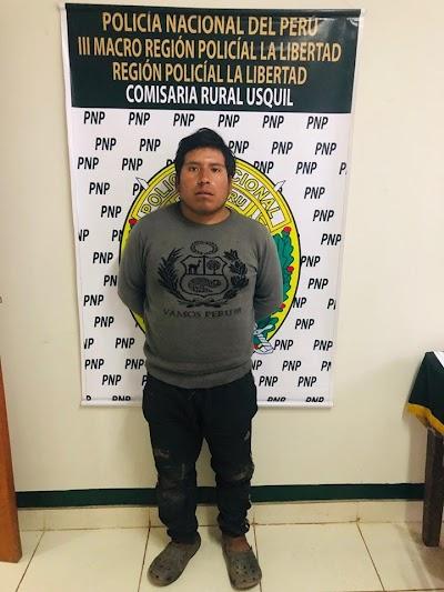 Dictan 9 meses de prisión preventiva para violador de menor en Otuzco