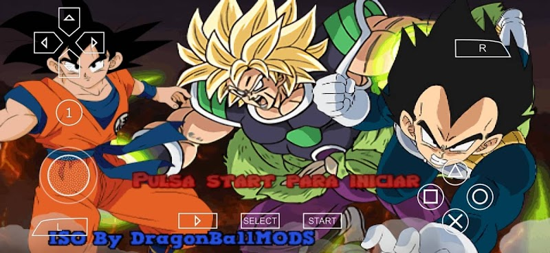 DBZ TTT MOD Android PSP ISO CANNON With Permanent Menu