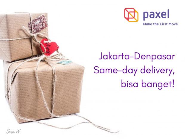 Paxel, Kirim Paket Jakarta - Denpasar Sehari Sampai
