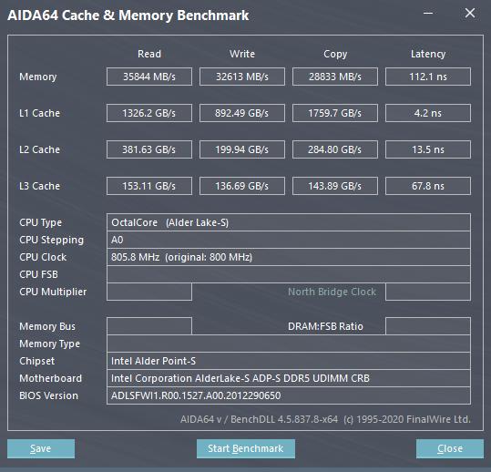 AIDA64 - DDR5 RAM gecikmesi