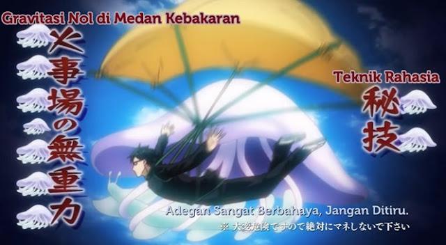 Anime dimana karakter utama harus melakukan segala sesuatu dengan gaya