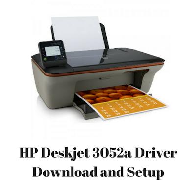 HP Deskjet 3052a Driver Download and Setup