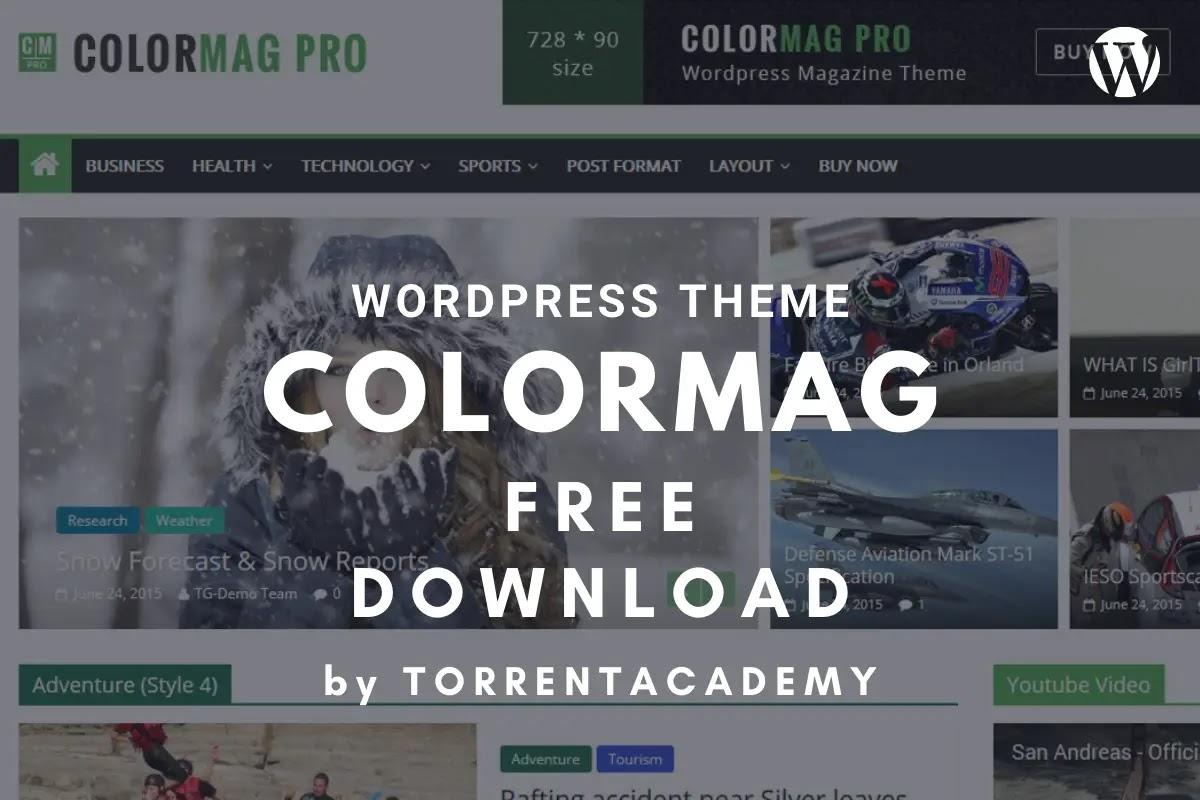 Colormag-wordpress-theme-homepage