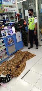 Supir Truk Asal Karawang Mendadak Meninggal Di Minimarket