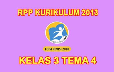 download rpp kelas 3 tema 4 k13 tahun 2019/2020