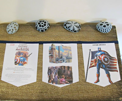 image bunting avengers captain america domum vindemia for children superhero etsy