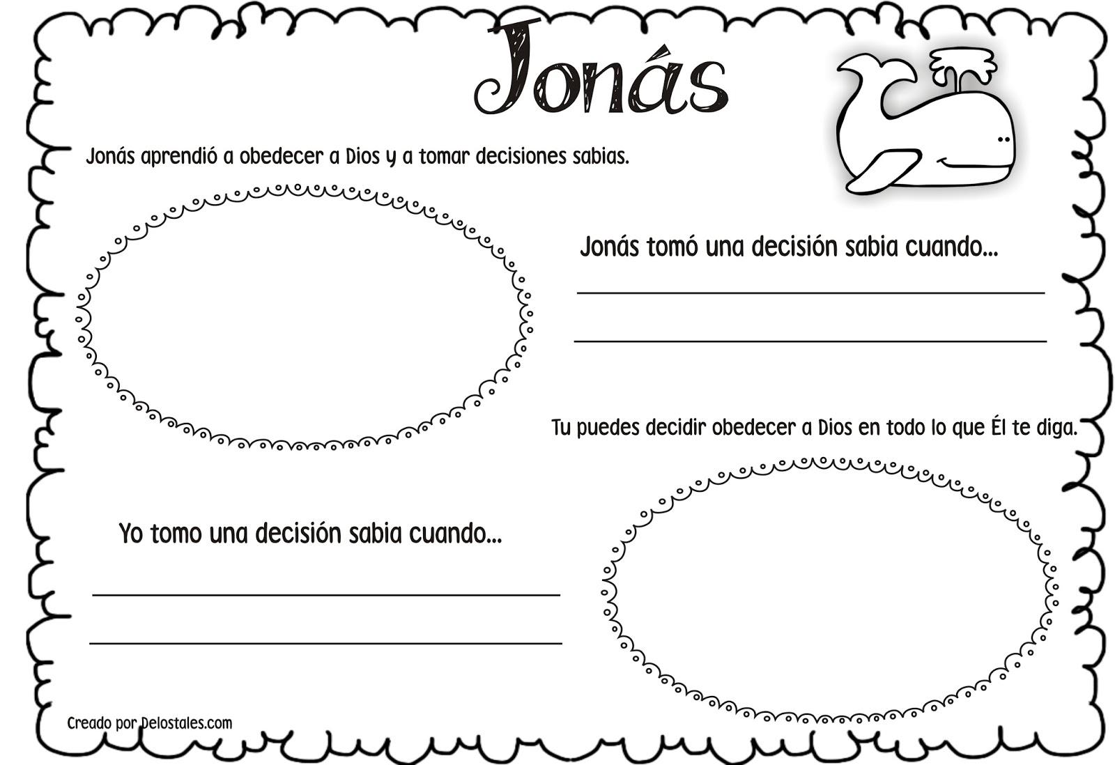 Vistoso Jonah Para Colorear Las Actividades Ideas - Dibujos Para ...