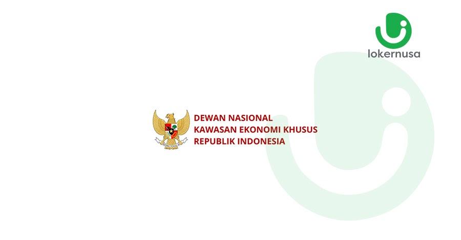 Lowongan kerja terbaru kali ini berasal dari Dewan Nasional Kawasan Ekonomi Khusus Republik Indonesia.