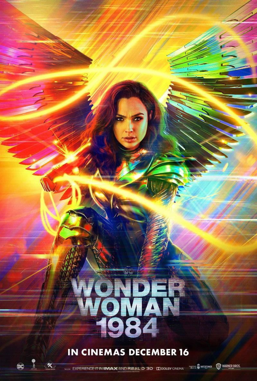 wonder woman 1984 UK poster
