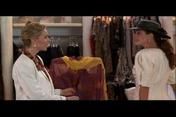 julia roberts, shopping, commission, rodeo drive, pretty woman,