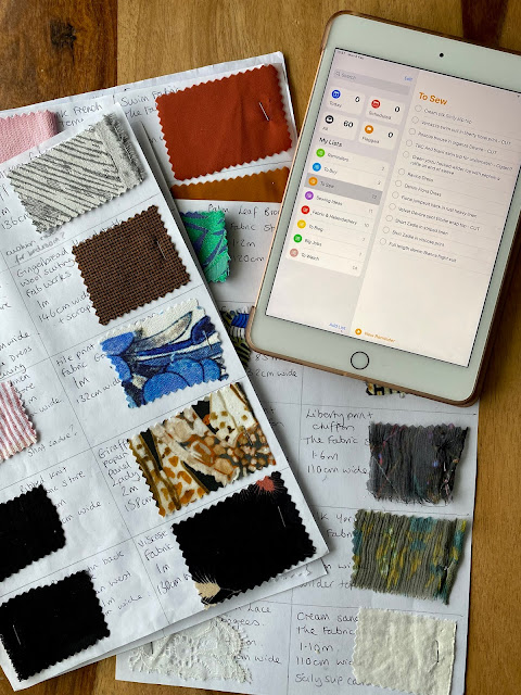 Diary of a Chain Stitcher: Fabric Stash Organisation