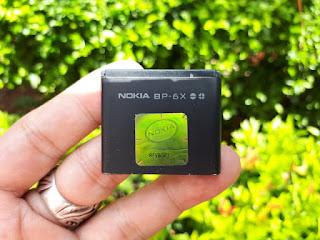 Baterai Nokia BP-6X Nokia 8800 Classic Sirocco Original Copotan