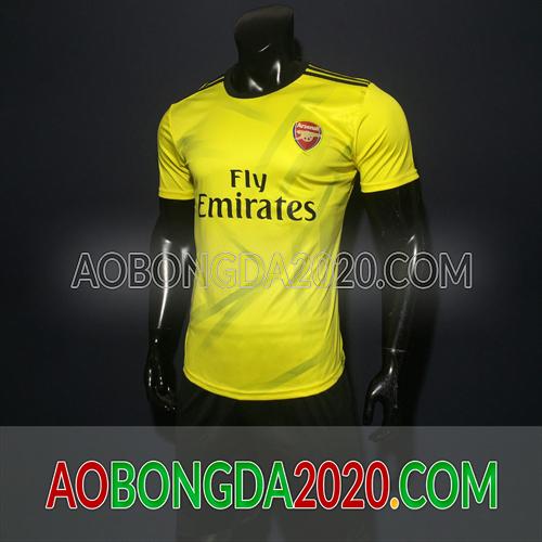 Mẫu Áo Arsenal Vàng Mùa Giải 2020 Training 13