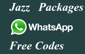 Jazz Whatsapp Packages Daily Weekly Monthly