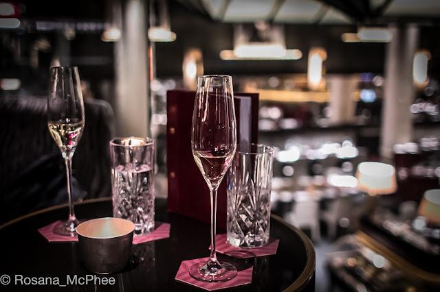 Quaglino's  champagne