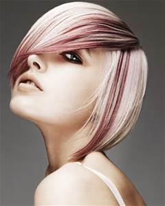 Two Colored Bob Hairstyle
