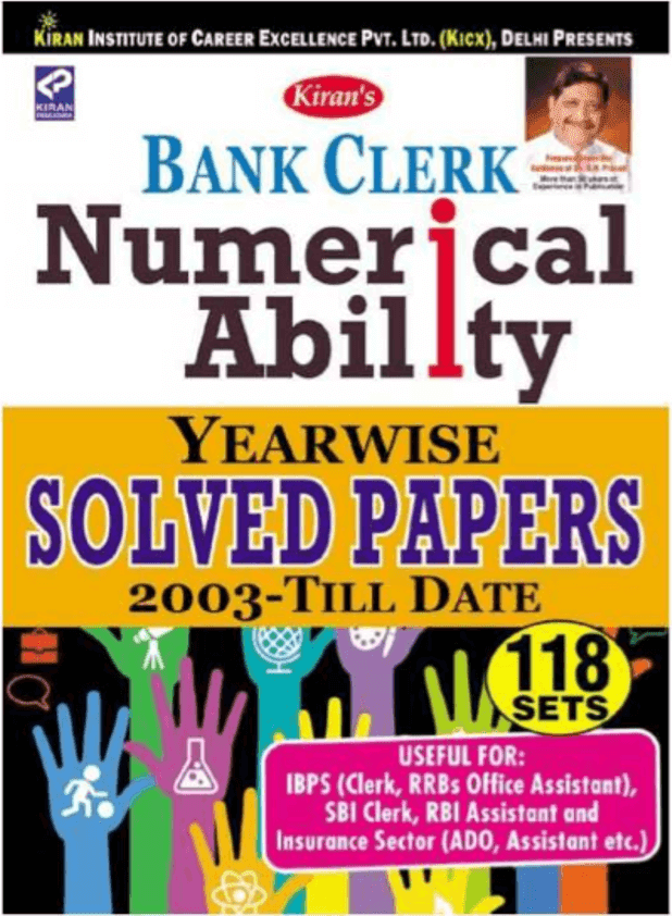 Kiran Numerical Ability : For Banking Exam PDF Book