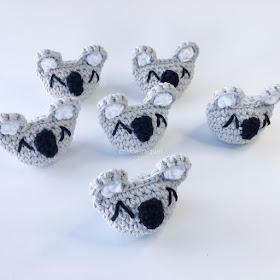 Patrón de ganchillo libre Amigurumi koala - Patrones de amigurumi ... | 280x280
