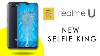 Harga dan Spesifikasi Oppo Realme u1, Smarphone King of Selfie