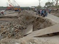 Jembatan Titi Dua Sicanang Amblas, Bukti Kelalaian Dinas PU Medan